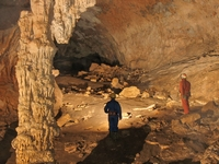 Coventosa, a magnificent cave and quite easy access.