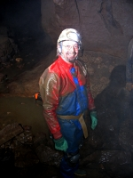 Colin in Peak Cavern (Ex-member)