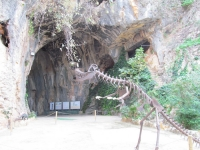 Picture 1: The entrance to the cave.