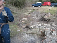 Picture 1: Archaeological work on the 