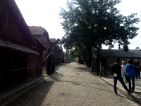 Picture 1: Auchwitz I camp entrance