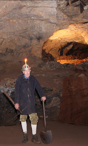T'owd man in Wood Mine